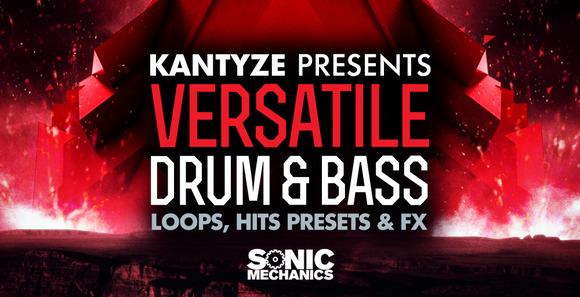 Kantyze presets Versatile Drum & Bass