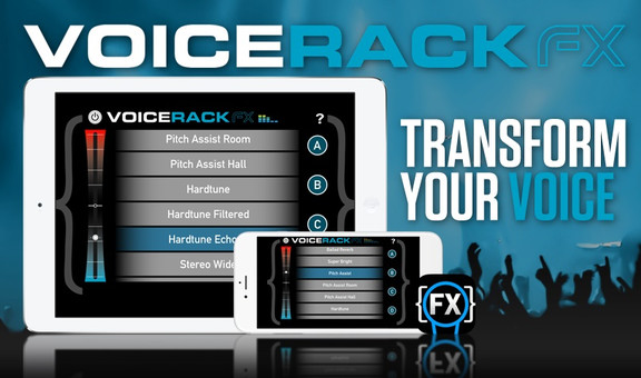 TC-Helicon Voice Rack: FX