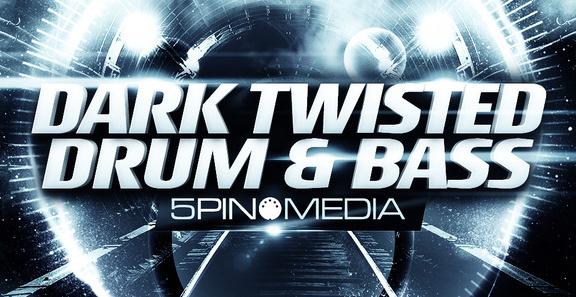 5Pin Media Dark Twisted Drum & Bass