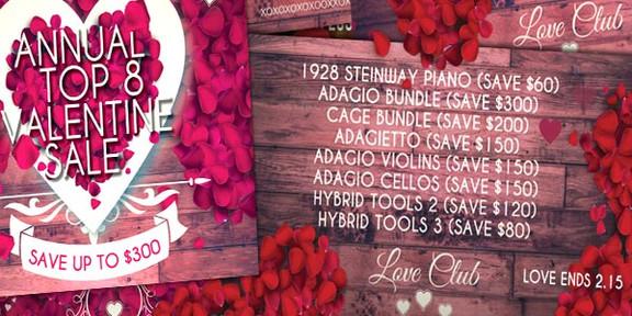 8Dio Valentine Sale