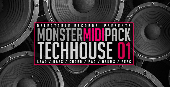 Tech House Monster MIDI Pack
