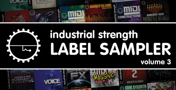 Industrial Strength Label Sampler 3