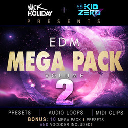 Kid Zero EDM Mega Pack Vol. 2