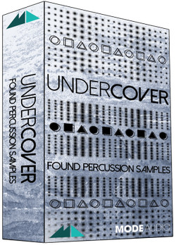 ModeAudio Undercover Found Percussion Samples