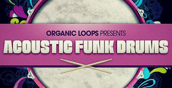 Organic Loops Acoustic Funk Drums