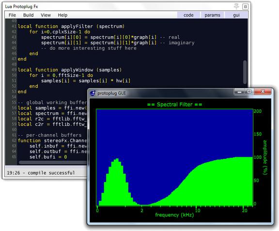 Open Source Audio Research Protoplug