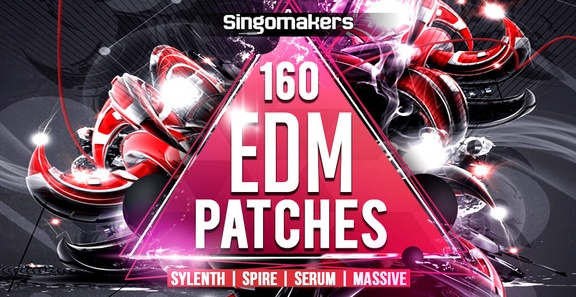 Singomakers 160 EDM Patches