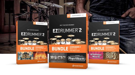 Toontrack EZdrummer 2 bundles