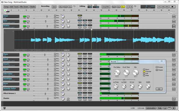 Bremmers Audio Design MultitrackStudio