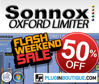 50% off Sonnox Oxford Limiter