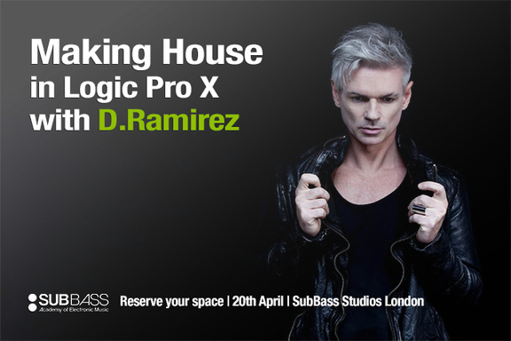 Making House in Logic Pro X with D.Ramirez