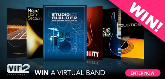Time+Space Win a virtual band contest