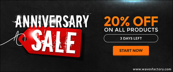 Wavesfactory 5th Anniversary Sale