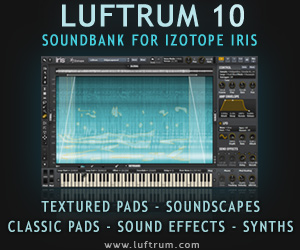 Luftrum 10 soundset for iZotope IRIS