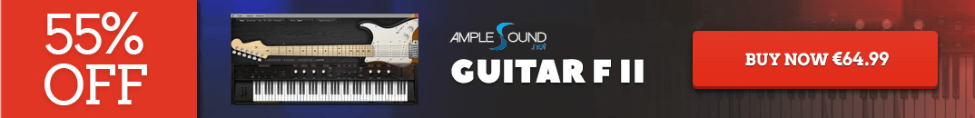 55% off Ample Sound FII Guitar