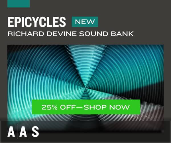 25% off  Epicycles for Chromaphone 2 & AAS Player