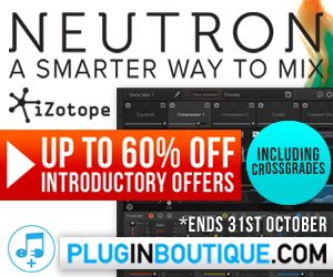Up to 60% off iZotope Neutron