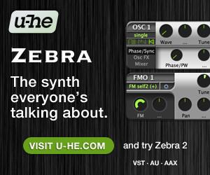 u-he Zebra