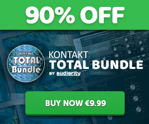 90% off Audiority Kontakt Total Bundle