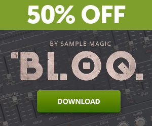 50% off Sample Magic Bloq