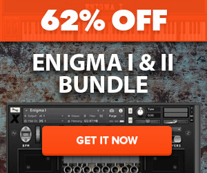 62% off Xtant Audio Enigma Bundle for Kontakt