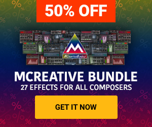 50% off MCreativeBundle by Meldaproduction