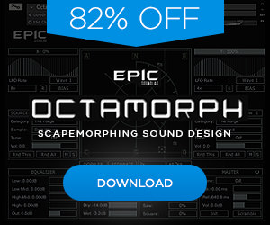 82% off Epic SoundLab OctoMorph FE