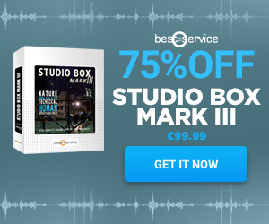 75% off Studio Box Mark III