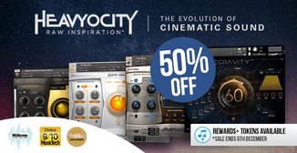 50% off Heavyocity