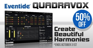 50% off Eventide Quadravox