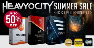 Up to 50% off Heavyocity virtual instruments