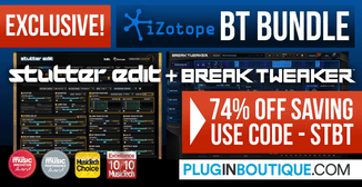 70% off iZotope BT Bundle