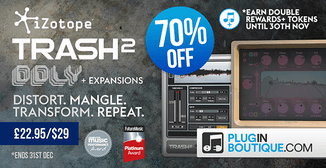 70% off iZotope Trash2