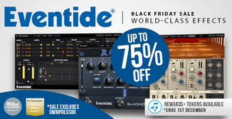 Up to 75% off Eventide plugins