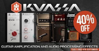 Up to 40% off Kuassa guitar amp and audio processing plugins