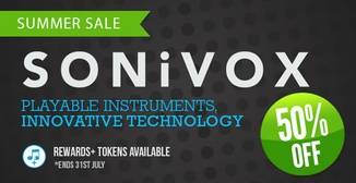 50% off Sonivox instruments