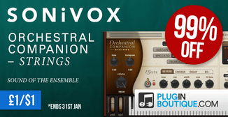 99% off Sonivox Orchestral Companion Strings