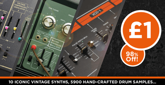 98% off Wave Alchemy Synth Drums