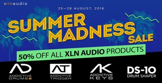 50% off XLN Audio plugins and expansions