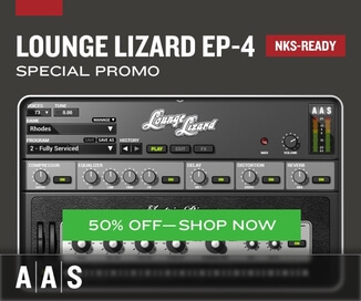 50% off Lounge Lizard EP-4