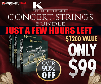 92% off Kirk Hunter Concert Strings Bundle