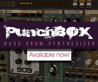 D16 PunchBOX kick drum plugin