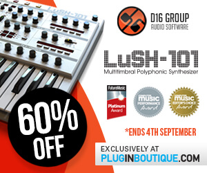 60% off LuSH-101 at Plugin Boutique