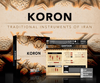Koron Traditional Instruments of Iran