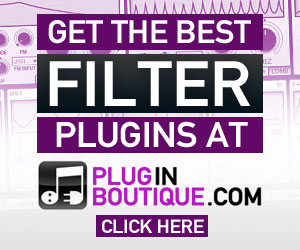 Filter plugins at Plugin Boutique