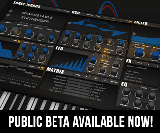 Tone2 Icarus public beta available now