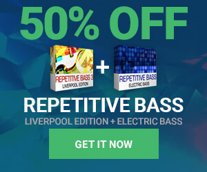50% off Electric Bass Bundle by Dream Audio Tools