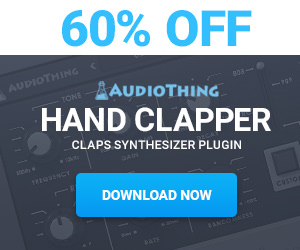 60% off AudioThing Hand Clapper