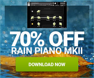 73% off SampleTekk Rain Piano