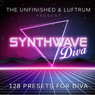 Synthwave Diva by Luftrum and The Unfinished